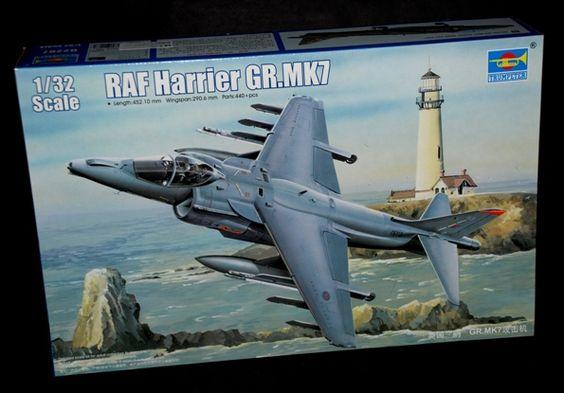 HARRIER GR7 1/32 TRUMPETER