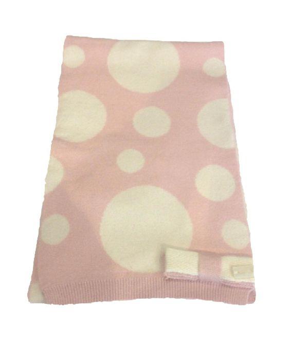 SCIARPA LIU JO BABY,  #Sciarpa per #bambine della Liu Jo #Baby di colore #rosa con fantasia a pois color ecrù, fiocco decorativo con targhetta Liu Jo in madreperla. #liujo #liujobaby #bimba #bimbi  http://www.abbigliamento-bambini.eu/compra/sciarpa-liu-jo-baby-2973729