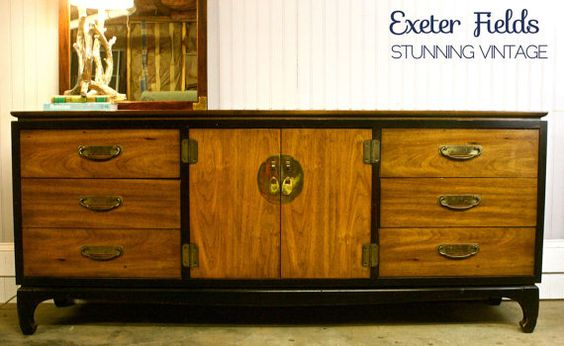 Hollywood Regency and Chinoiserie Style Dresser  by ExeterFields, $1295.00