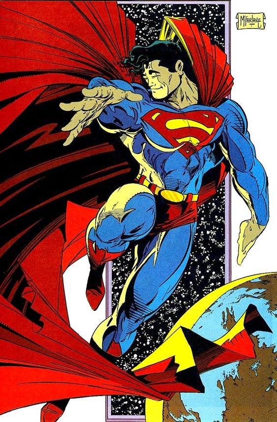 Superman by Todd McFarlane.