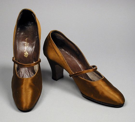 1928 Pair of Woman's Pumps | LACMA Collections