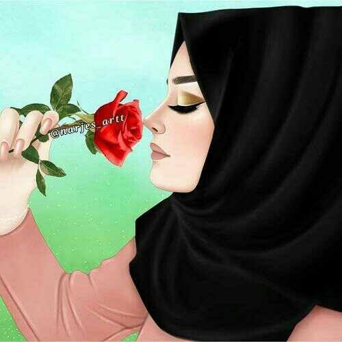 انمي محجبات Girly Drawings Islamic Girl Images Cute Girl Drawing
