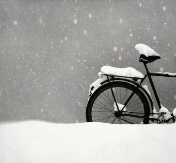 snowy: Winter Snow, Snow Bike, Winter Wonderland, Black White, Winter Bike, Snowy Day, Snowy Bike
