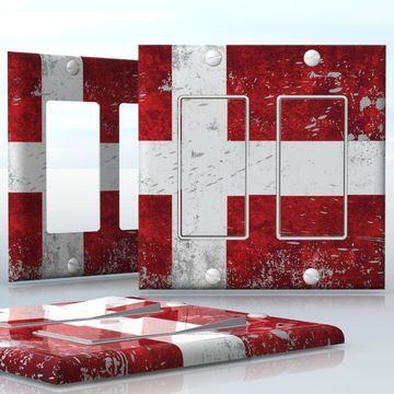 flag white red cross