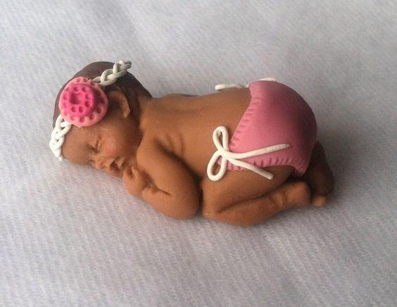Bebé ducha cumpleaños nuevo bebé recuerdo por AThreadRunsThruIt