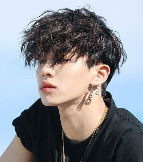 Two Block Haircut Ideas Advice To Style Kpop Hairstyle Two Block Haircut Asian Hair Messy Hairstyles