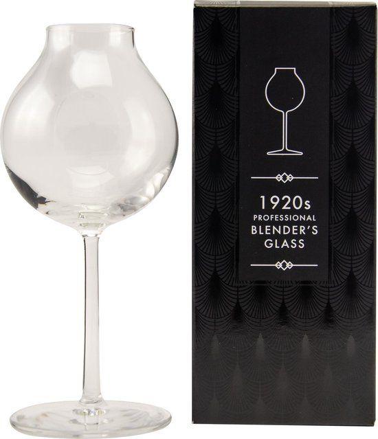1920's professional blender's glass