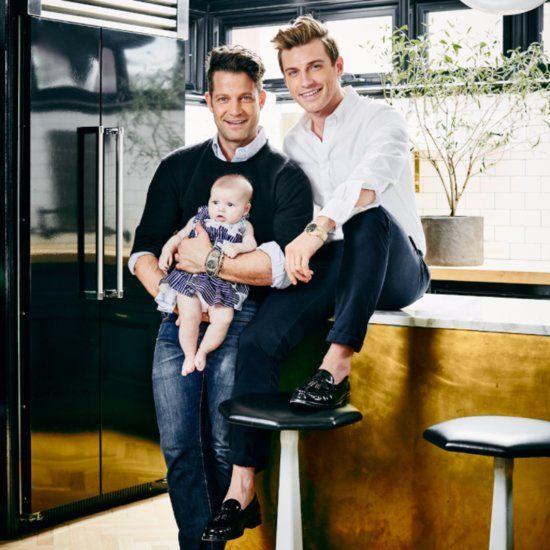 Nate Berkus and Jeremiah Brent Introduce Daughter Poppy