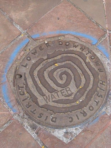 Denver, CO manhole cover