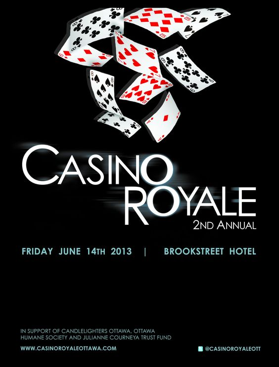 Casino filmed royale where handheld electronic casino game