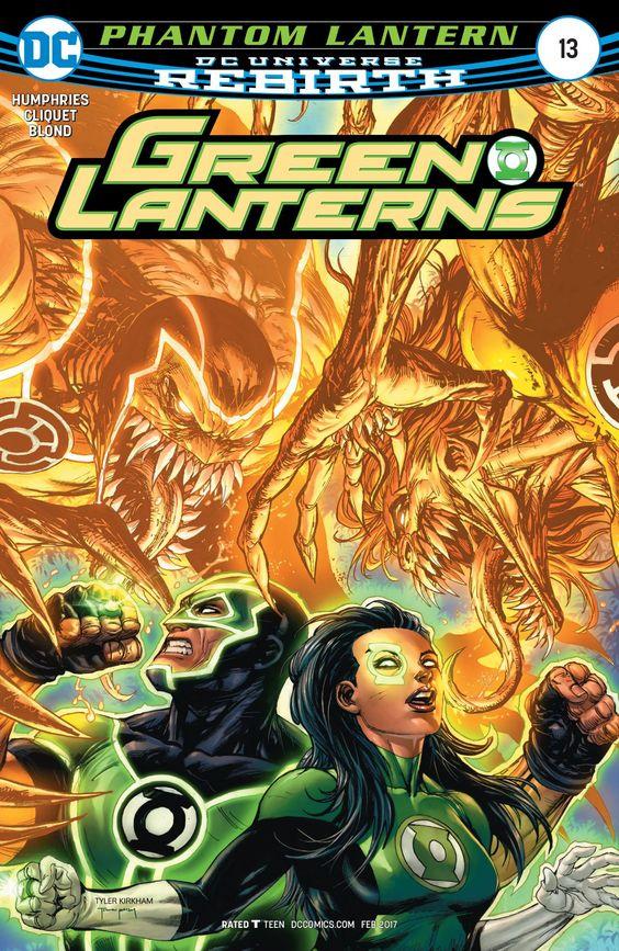 Green Lanterns (2016) #13 #DC @dccocmics #GreenLanterns Release Date: 12/21/2016