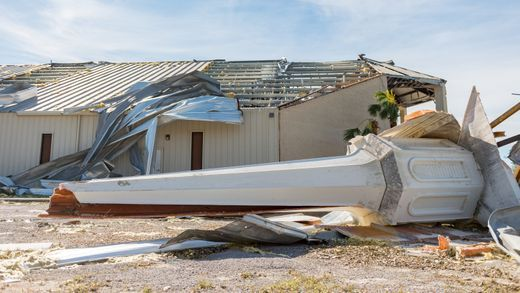 Couple Stranded By Michael Spells H E L P On Their Lawn Is Rescued After Niece Finds It On Noaa Map Panama City Panama Church Steeple Devastation