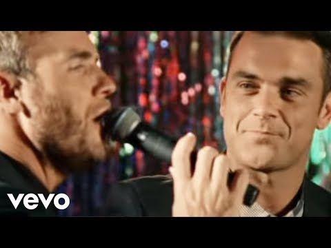 Robbie Williams Gary Barlow Shame Official Video Youtube Robbie Williams Gary Barlow Robbie