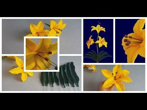 Kerajinan Tangan Dari Kain Flanel Membuat Bunga Diy Bunga