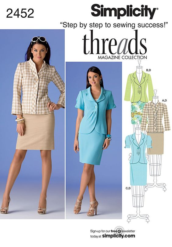 threads patterns skirt jacket - Buscar con Google: