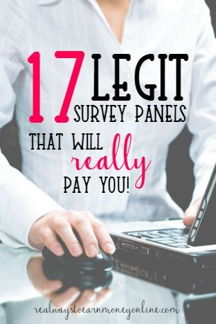 These are the best survey panels to use. You can participate and earn extra cash working from home.
