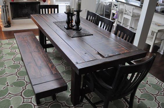 Rustic trades furniture atlanta ga handmade distressed reclaimed rustic tables and - Dining room tables atlanta ...