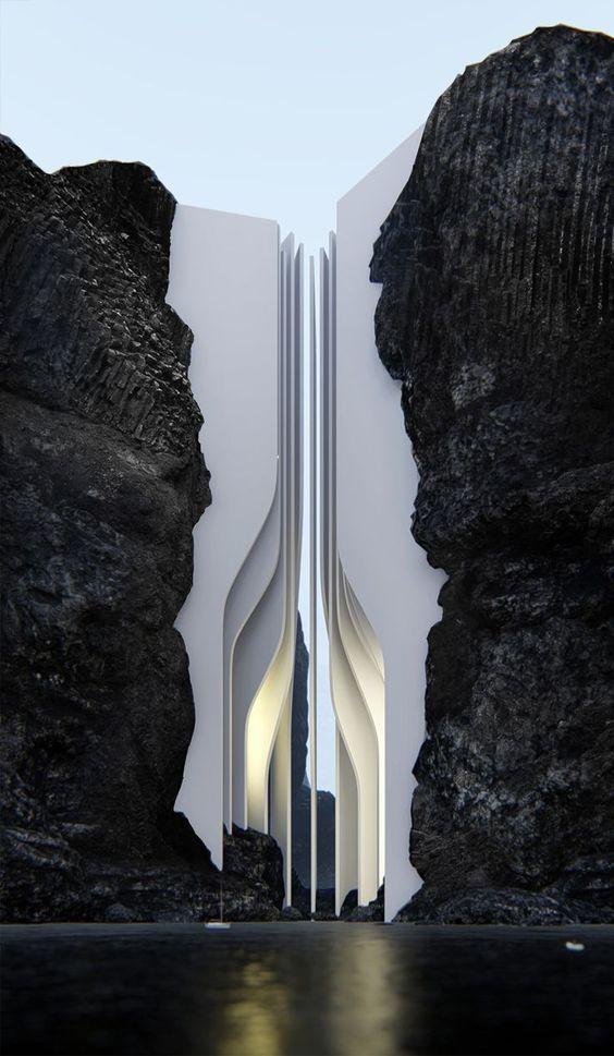 Architecture design and Futuristic architecture