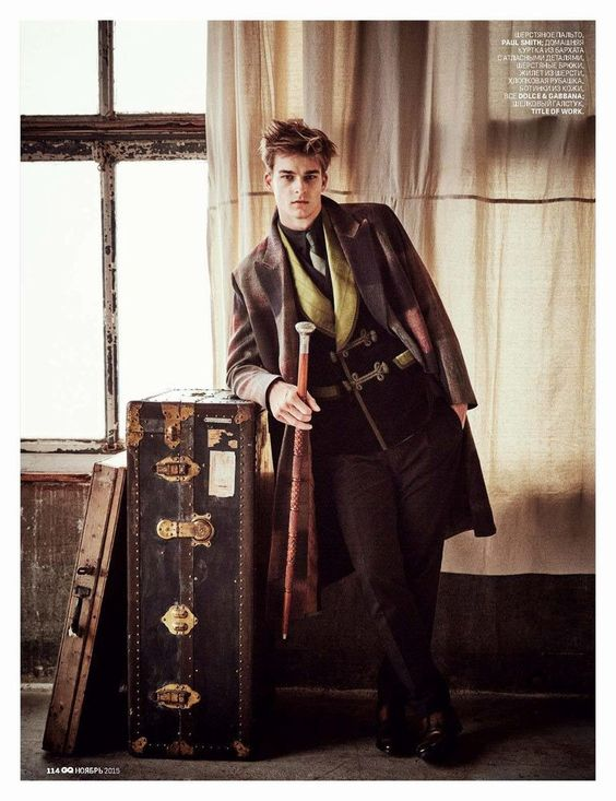 Chris Folz, Rainer Andreesen, Thorben Gärtner y Dane Bell para GQ Rusia Noviembre 2015 | Male Fashion Trends