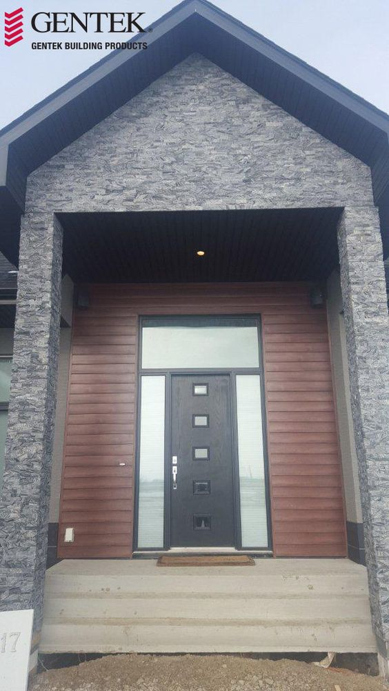 Black Fascia House Contemporary Exteriors Farmhouse: Mocha, Colour And Black On Pinterest