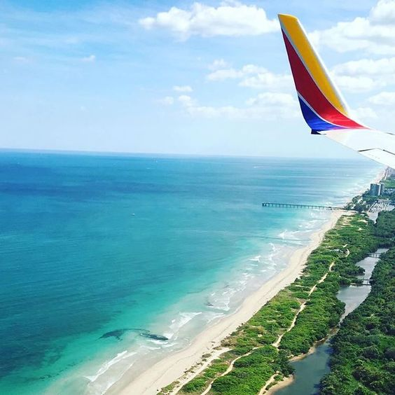 Adventure is out there. Where will it take you? We wouldn't mind a beach getaway that looked like this. #AvGeek