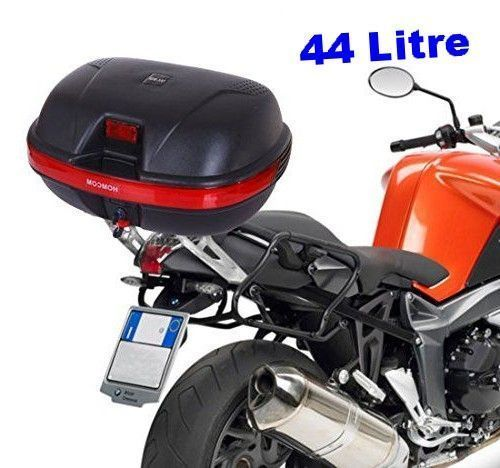 Motorcycle Travel Luggage Motorbike Trunk Helmet Storage Carrier Case Box and Fittings LCF Universal Motorcycle Top Box