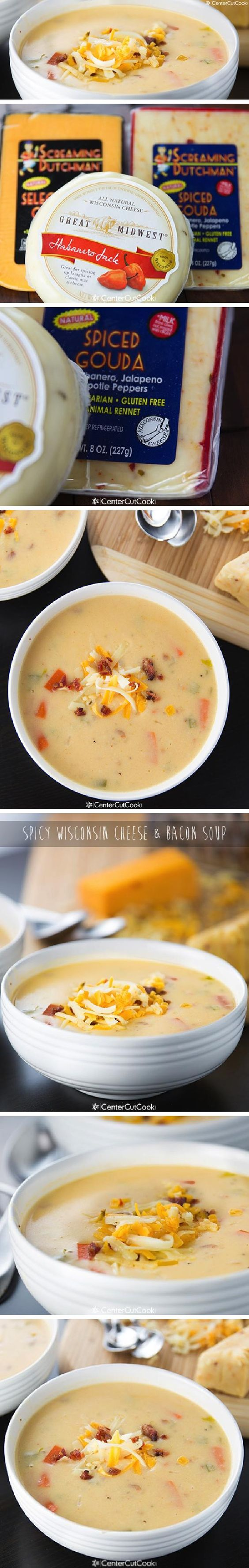 Wisconsin cheese, Bacon soup and Wisconsin on Pinterest