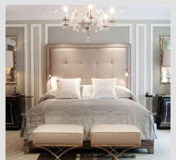 Beautiful chic bedroom..