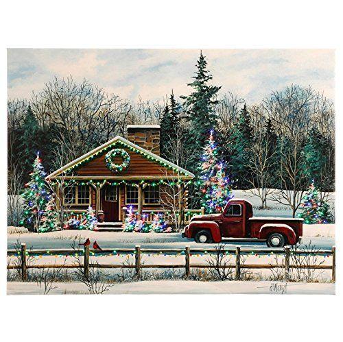 Christmas Posters Winter Scene Raz Imports Winter Scene