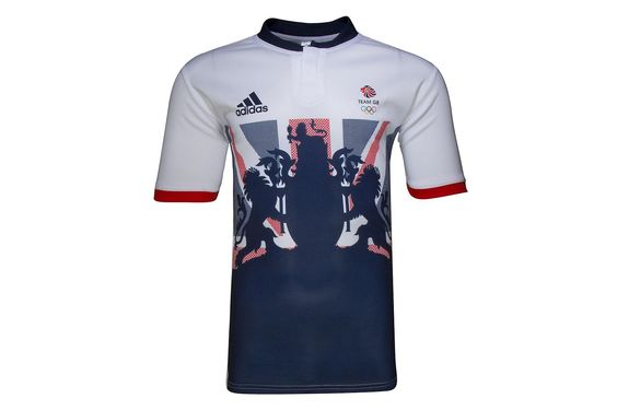 adidas Team GB 2016 Olympics S/S Rugby Training Shirt