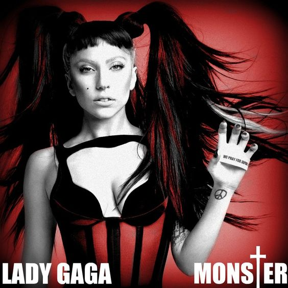 Lady Gaga – Monster (single cover art)