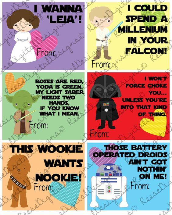 join the dark side valentine star wars by buttonandprint valentines day pinterest dark side kraft envelopes and card birthday - Adult Valentine Cards