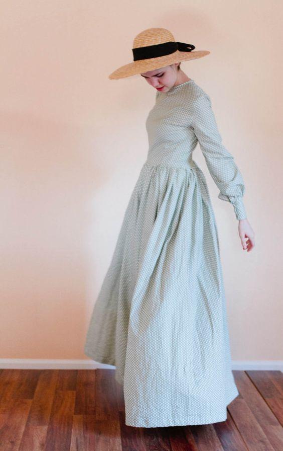 Plain Dress - Back Zip modest dress - Prairie Dress - Made to Measure Modest…