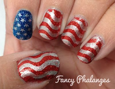 Independence Day!: Makeup Nails, Nails Oh, July Nails, Holiday Nails, Nails Tonight, Beautiful Nails, Fun Nails, Nails Bang, Nails July4