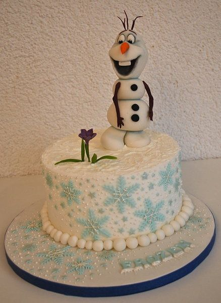 Frozen - Olaf the snowman Cake by TortenGallery. So ...