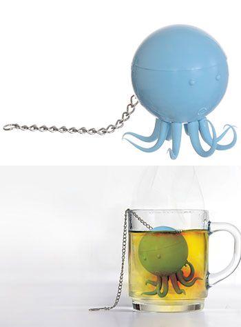 Pinterest the world s catalog of ideas - Octopus tea infuser ...