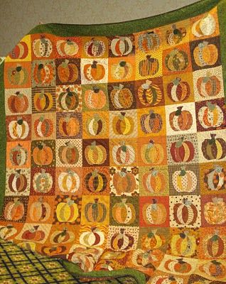 pumpkin quilt - Bee In My Bonnet: I hope you...