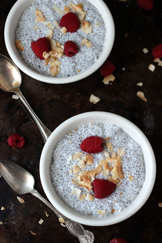 Coconut Vanilla Chia Pudding: Vanilla Chia, Chia Seeds, Vegan Recipe, Pudding Breakfast, Healthy Breakfast, Coconut Vanilla, Breakfast Food, Chia Pudding, Pudding Healthybreakfast