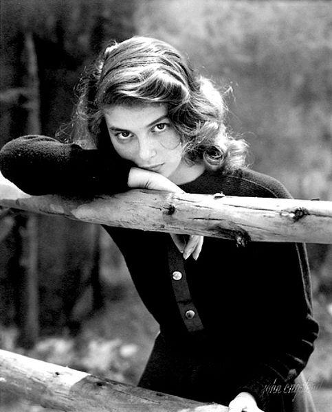 Ingrid Bergman. Yup.