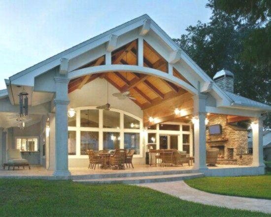 Top 20 Metal Barndominium Floor Plans For Your Home House Exterior Patio Design House Plans