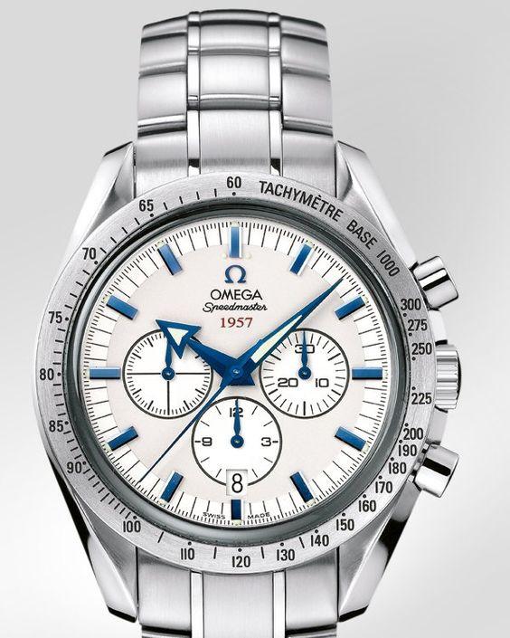 OMEGA Watches: Speedmaster Broad Arrow