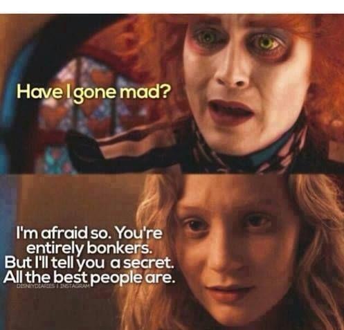 I Love this Alice in Wonderland Quote!