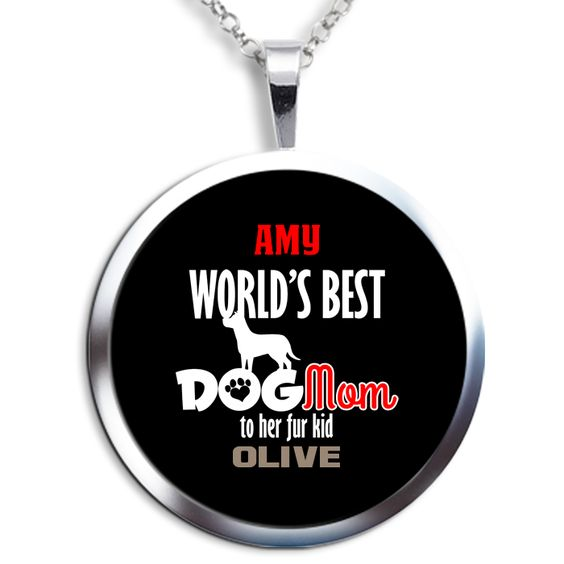 The ideally suited personalized round pendant necklace is patiently waiting for you!   Exclusively made available on http://LiveLoveFamily.com. Get yours today, simply click on the image now!