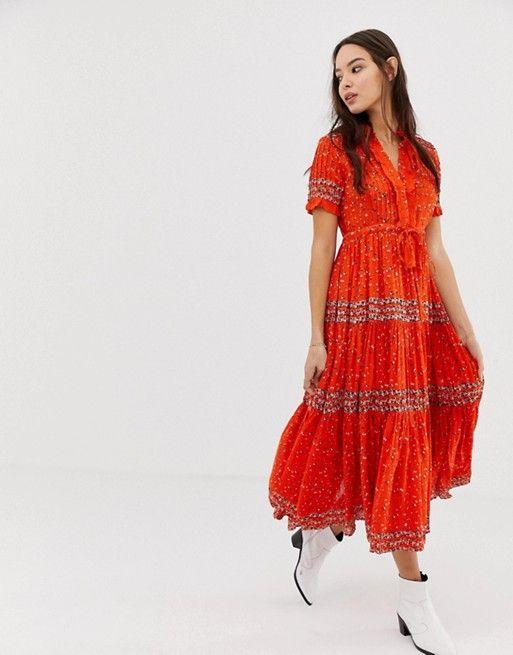 35+ Free people rare feelings maxi dress ideas