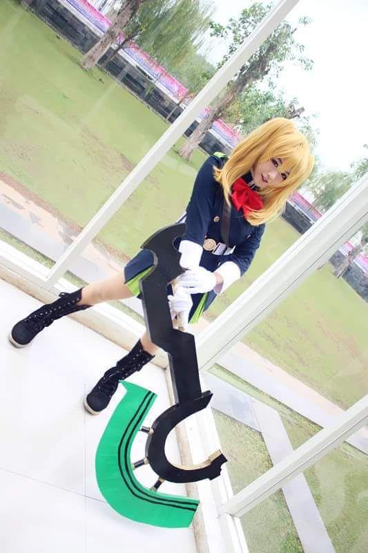 Mitsuba sangu - Kim Vessalius(Ozu) Mitsuba Sangu Cosplay Photo - Cure WorldCosplay