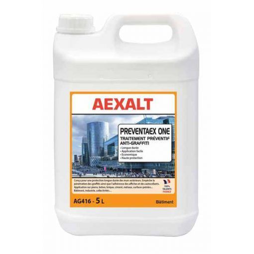 Traitement Preventif Anti Graffiti 5l Preventaex One Aexalt Traitement Appareillage Electrique Graffiti