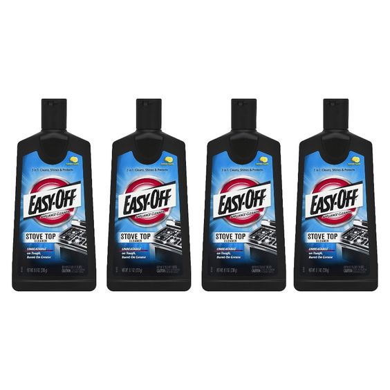 Easy-OFF Cooktop Cleaner- 8.1 oz. - 4 Pack