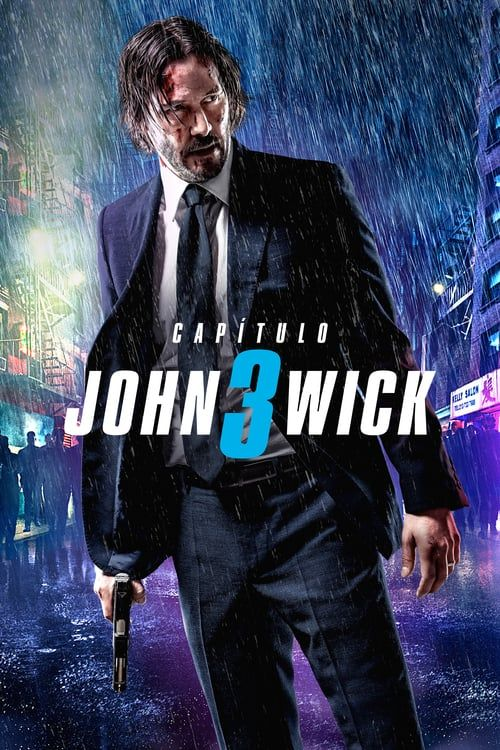 FREE P+P Keanu Reeves 2019 NEW Movie Film JOHN WICK 3 Poster CHOOSE YOUR SIZE