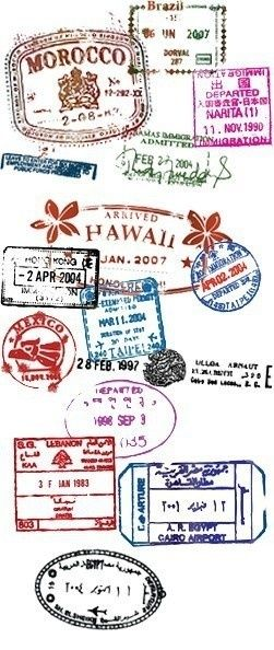 Who wants a passport that looks like this?!