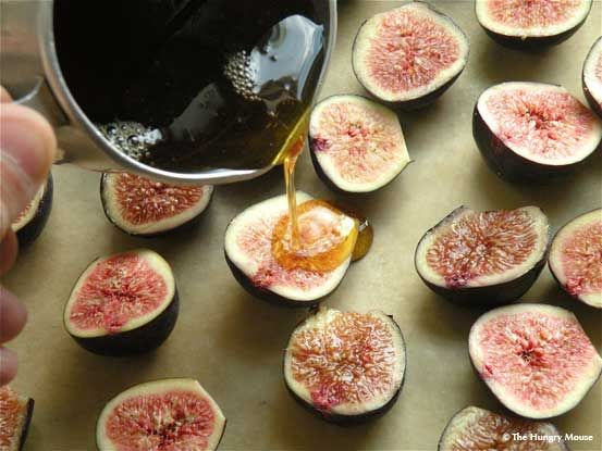 Maple  Syrup Roasted Figs perfect for a Wine & Cheese party